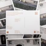 Buchpräsentation Flyer, Format A6 quer, Foto