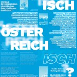 TYPISCH Call for Papers Faltplakat, Vorderseite
