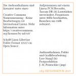 Audio Hallschlag: EATAG, Folder S.12